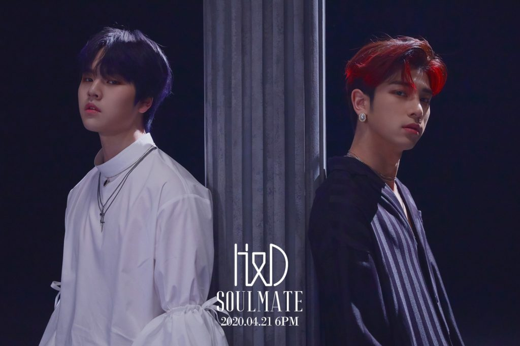 H&Dハンギョル&ドヒョンデビューsoulmate